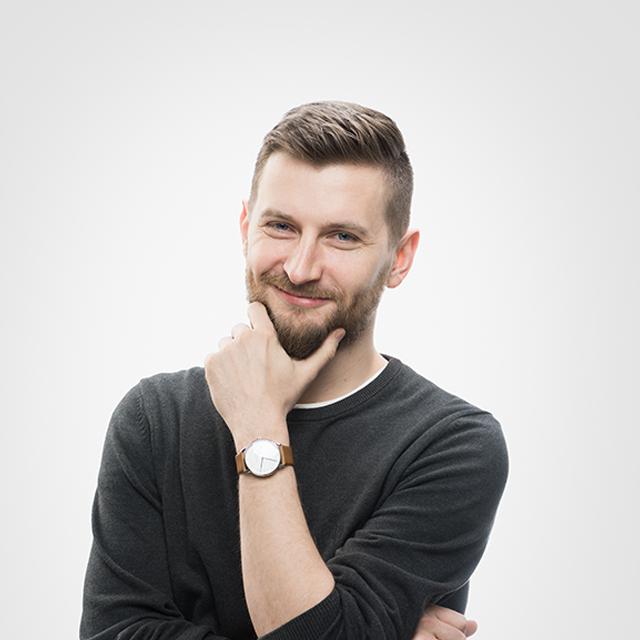portret Krzysztofa Bogomaza
