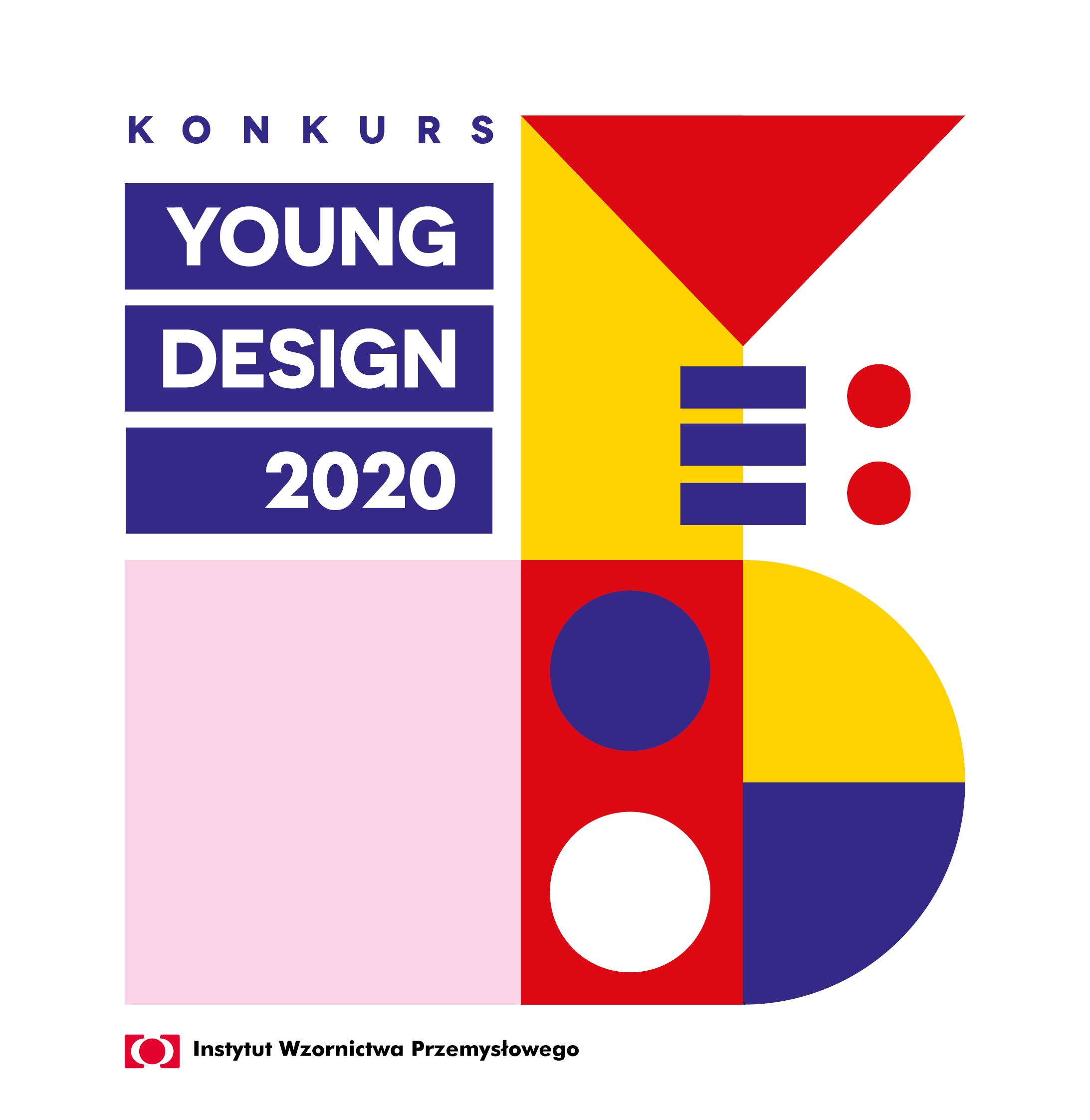 Plakat konkursu YOUNG DESIGN 2020